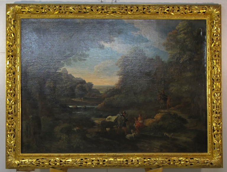 Phoenician Collection Gaspard Dughet Landscape with Figures-2